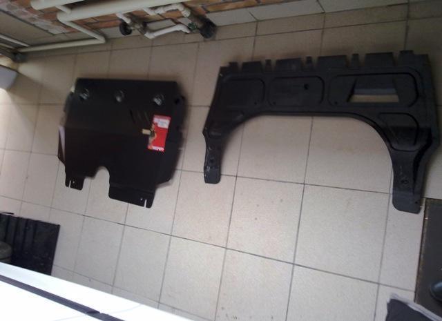 Замена защиты картера двигателя Фольксваген Поло седан