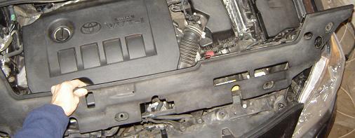 Замена ламп Тойота Королла (Е150)