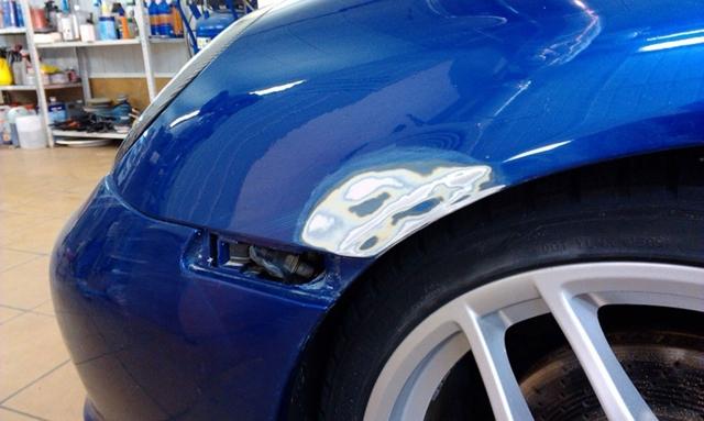 Локальная покраска автомобиля: технология проведения