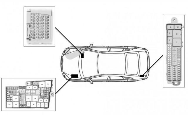 Предохранители и реле Форд Фокус 3