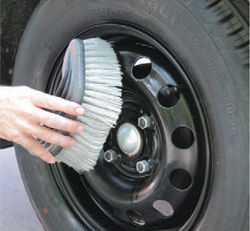 Замена колеса на Рено Логан 2