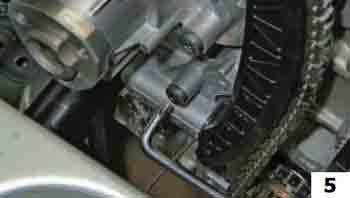 Замена цепи привода ГРМ на Фольксваген Поло седан 1.6