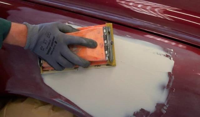 Кузовная покраска своими руками