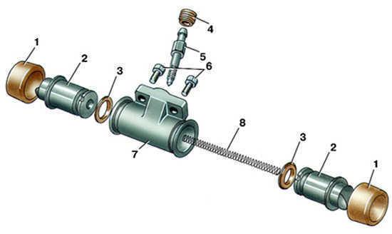 Тормозная система Ауди А6 С5