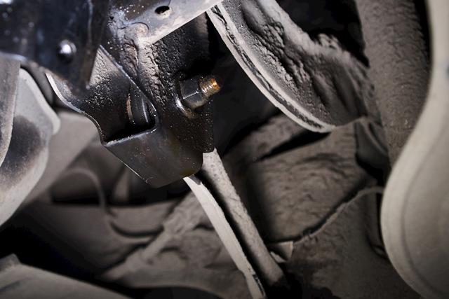 Замена подушек подвески выпуска ОГ Форд Фокус 3
