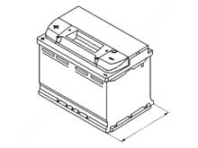 Аккумулятор Мазда 3 (БК)