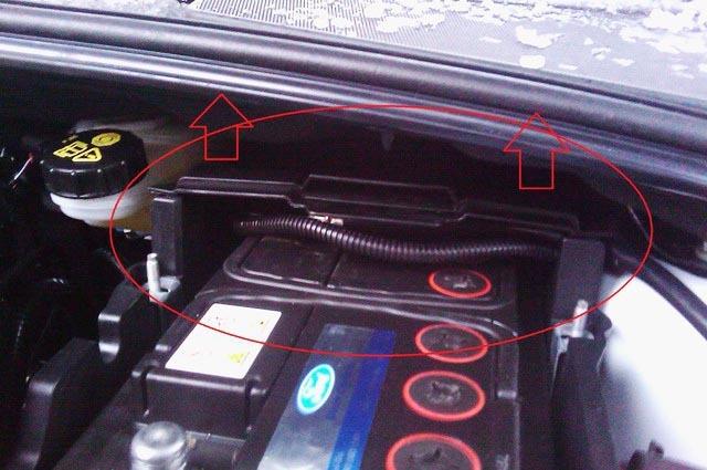 Замена аккумулятора Форд Фокус 3